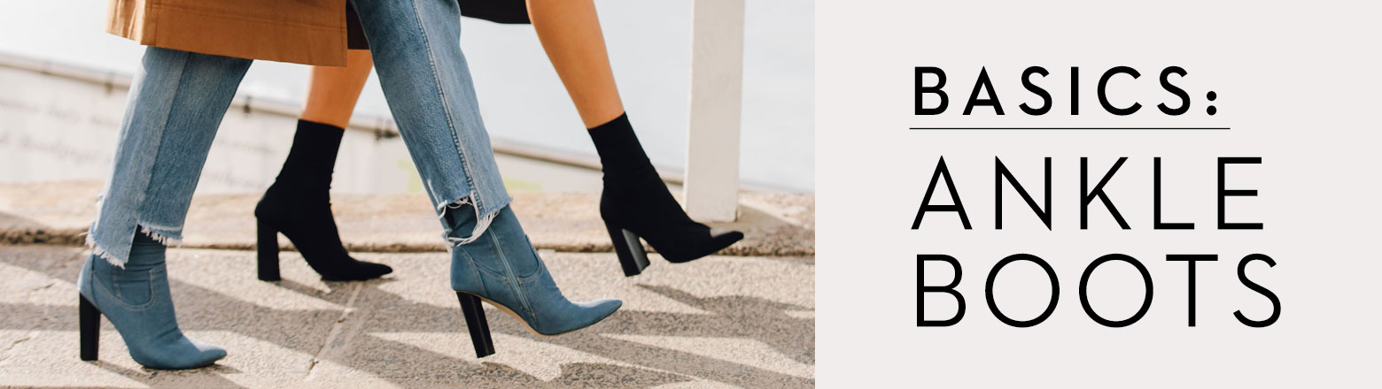 Shoptiques Fashion Trends: Basics: Ankle Boots