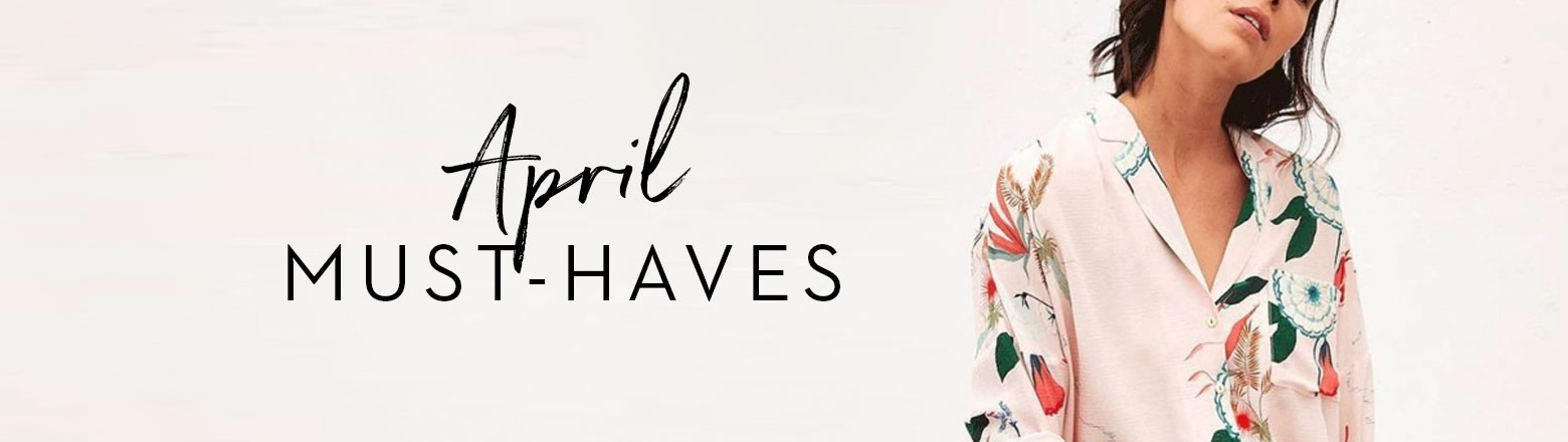Shoptiques Fashion Trends: April Must-Haves