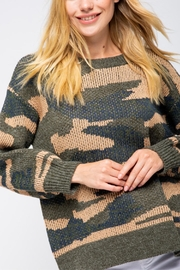 &merci Long Sleeve Camoflauge Pullover - Other