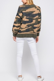 &merci Long Sleeve Camoflauge Pullover - Side cropped