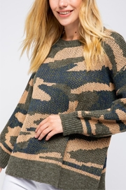 &merci Long Sleeve Camoflauge Pullover - Product Mini Image