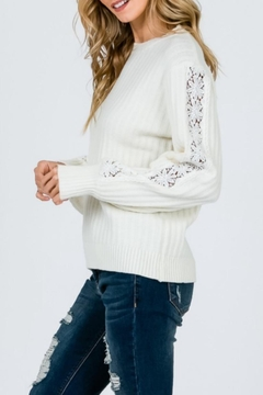&merci Soft Lace Sweater - Product List Image