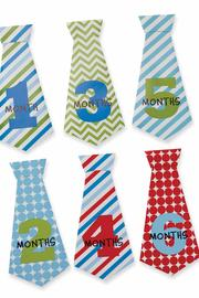 Mud Pie Boy Monthly Ties - Side cropped