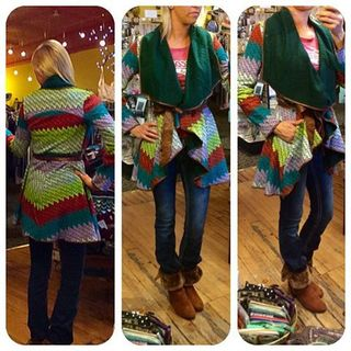 Shoptiques Product: Colorful Cardigan