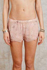 Chan Luu Moonlight Floral Shorts - Front cropped