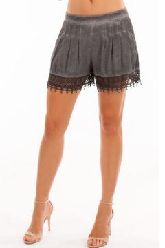 Shoptiques Product: Grey Jasmine Shorts
