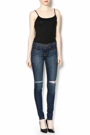 Flying Monkey High-Waisted Ripped Jeans - Front full body