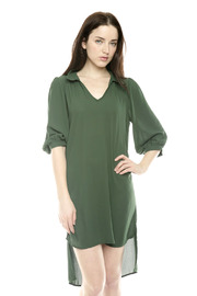 Shoptiques Product: Green Collar Dress