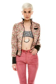 Members Only Floral  Bomber Jacket - Other