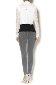 Active Lace Moto Jacket - Side cropped
