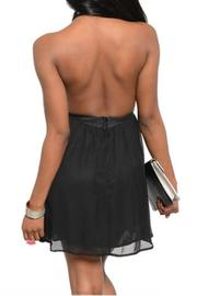The Vintage Shop Spiky Choker Dress - Front full body