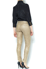 SOLD Faux Suede Skinny Pant - Other