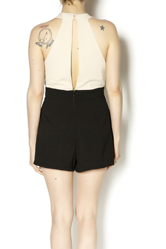 Danity Cream Black Romper - Alternate List Image