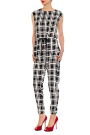 Shoptiques Product: Plaid Pattern Jumpsuit