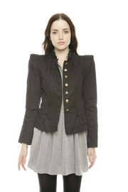 Shoptiques Product: Golden Button Blazer