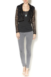 Active Lace Moto Jacket - Front full body