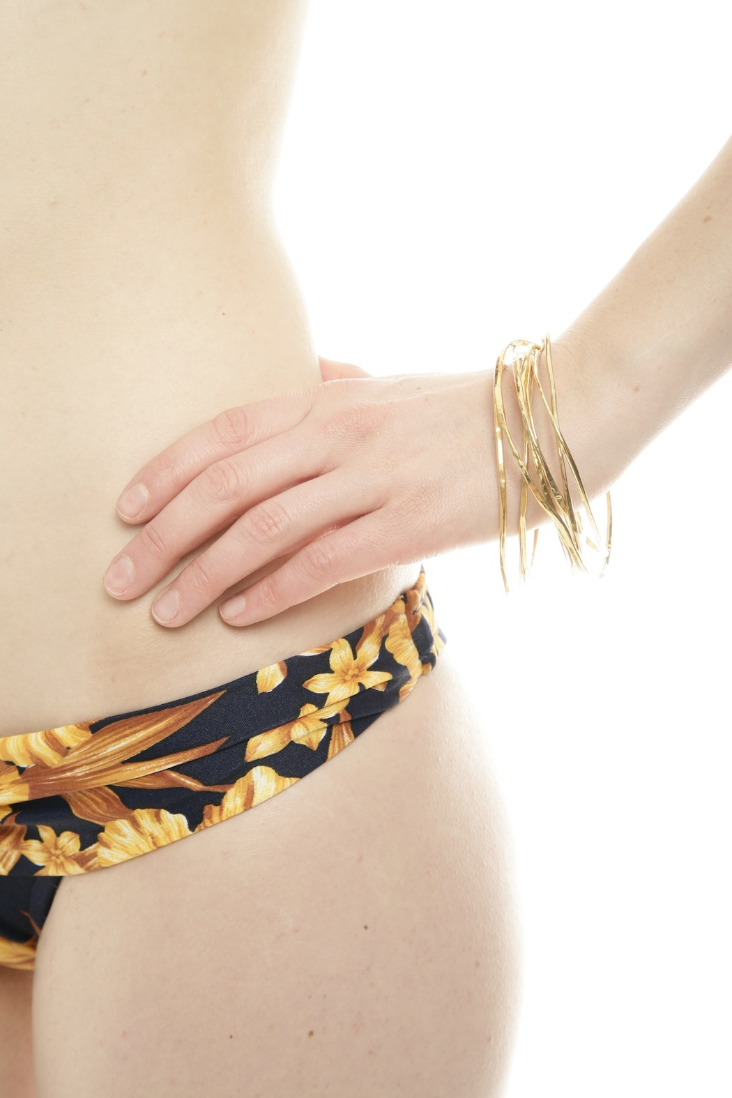 The J Line by Lady J Jewelry Hand Forged Bangle - Front Full Image