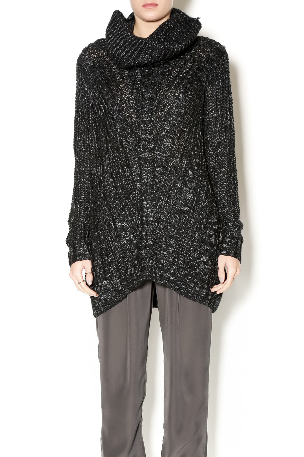 Cecico Long Knit Sweater - Main Image