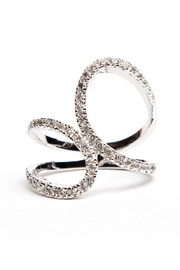Alex Mika Infinity Ring - Front cropped