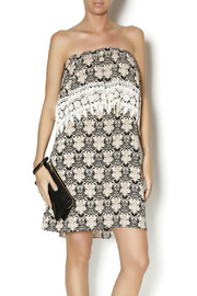 Auditions Baroque Crochet Dress - Product Mini Image
