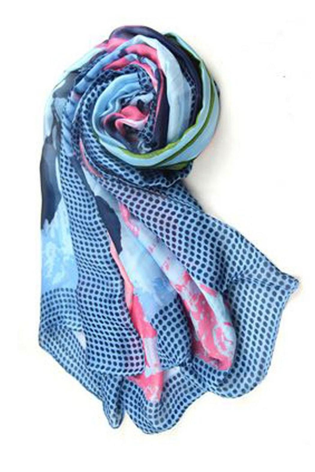 pretty persuasions posey scarf from illinois by funkie