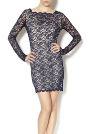 Double Zero Navy Lace Dress - Product Mini Image