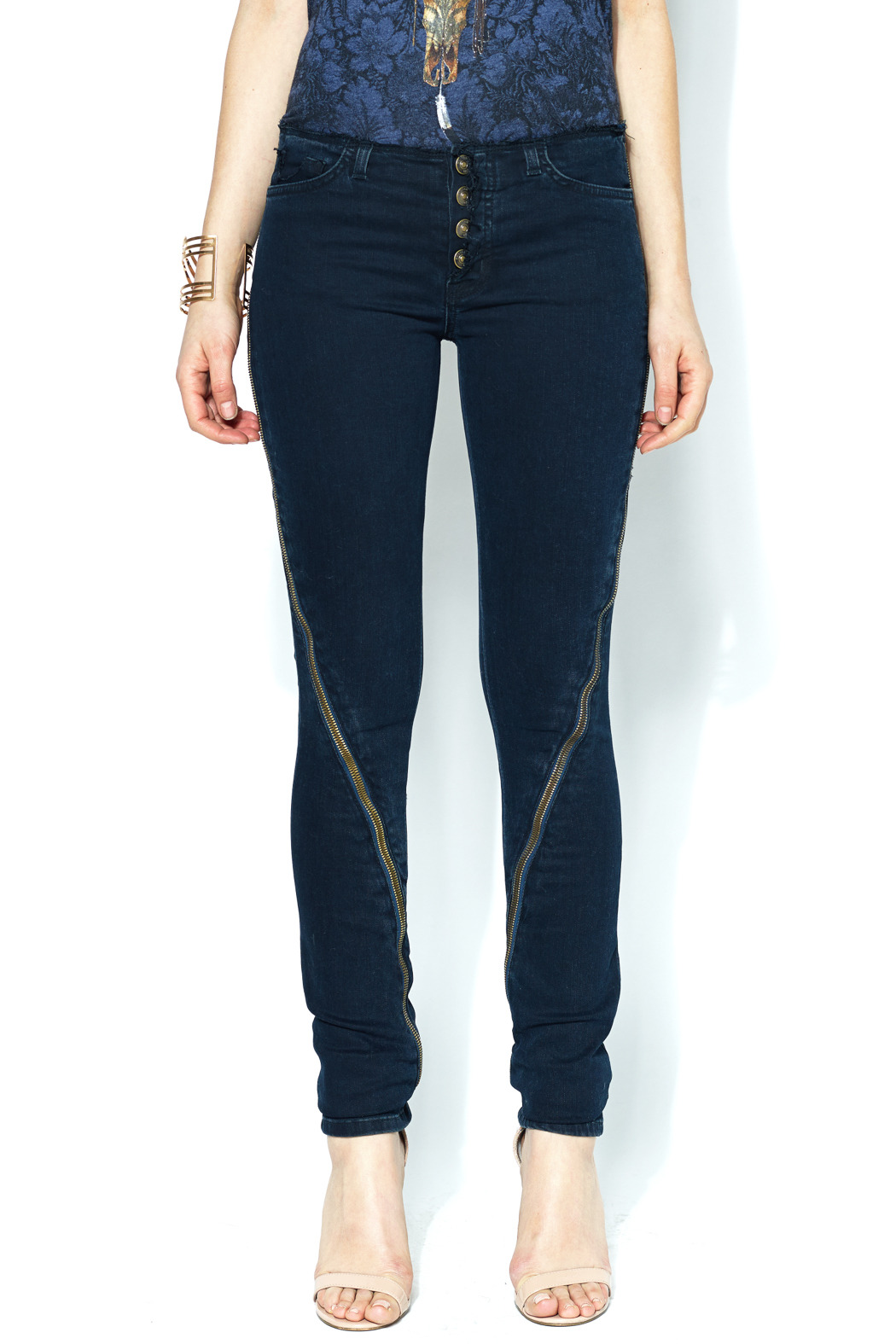 Hudson Jeans with Knee Details - Main Image