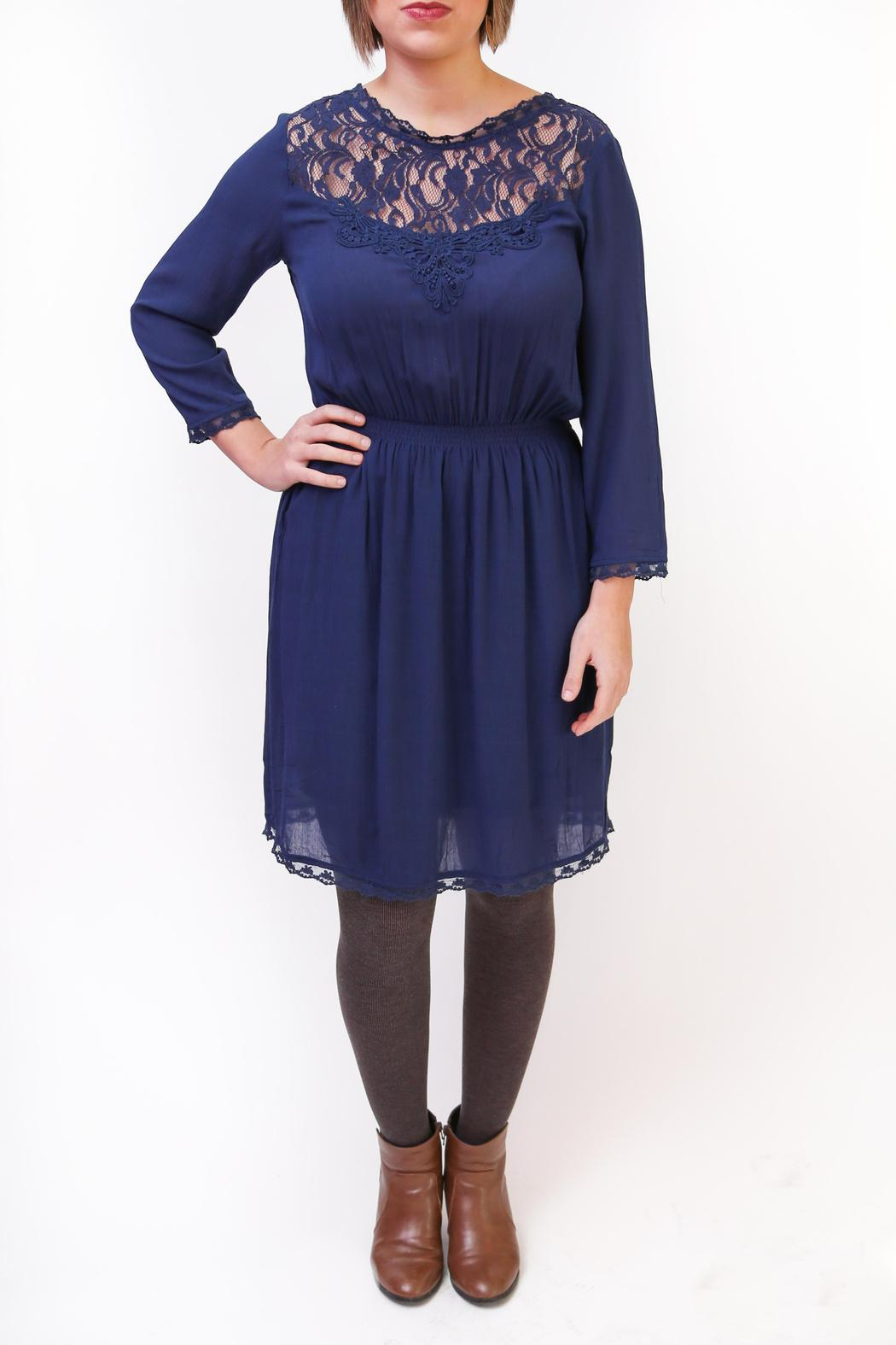 Gentle Fawn Duchess Lace Dress - Front Full Image