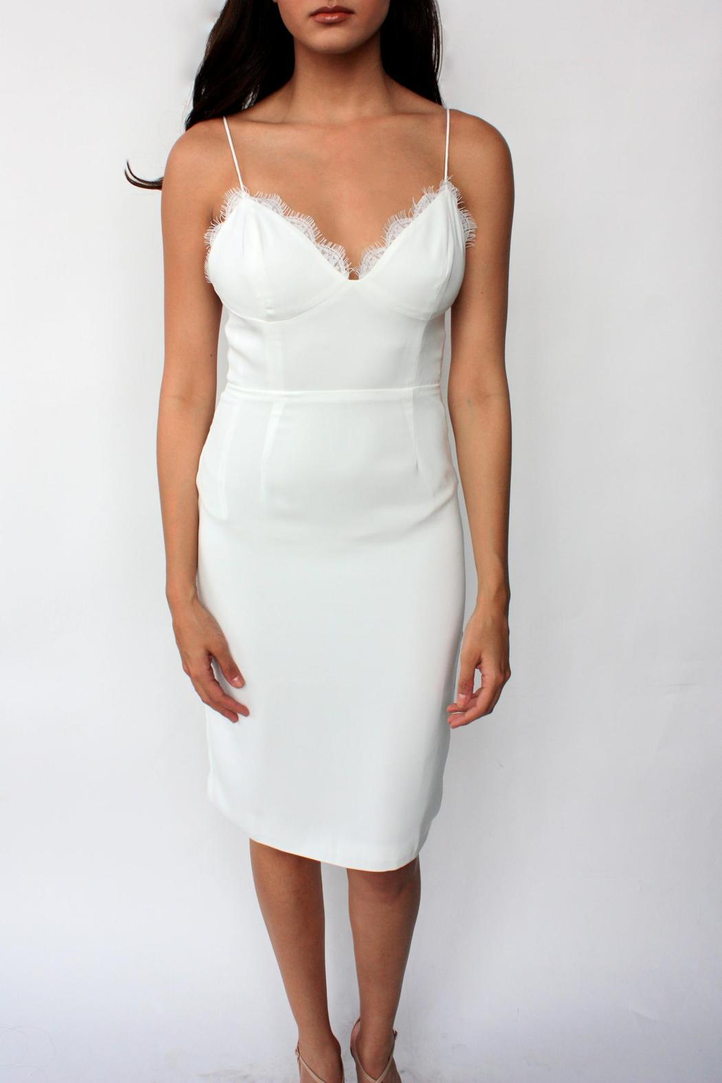 Line and Dot Luxe Slip Dress - Main Image