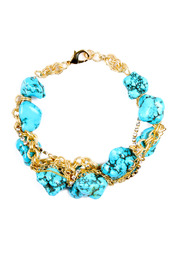 Hyla DeWitt Turquoise Necklace - Front cropped