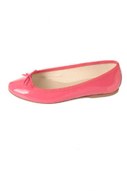 Anniel Bright Pink Ballerinas - Side cropped