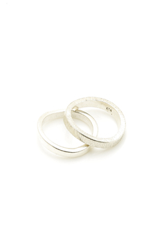 Sikara & Co. Double Thin Wave Ring - Product List Image