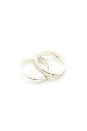 Sikara & Co. Double Thin Wave Ring - Product Mini Image