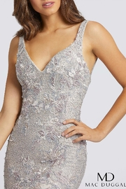 Mac Duggal V Neck Gown - Side cropped