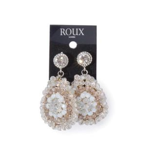 Shoptiques Product: Beige Earrings