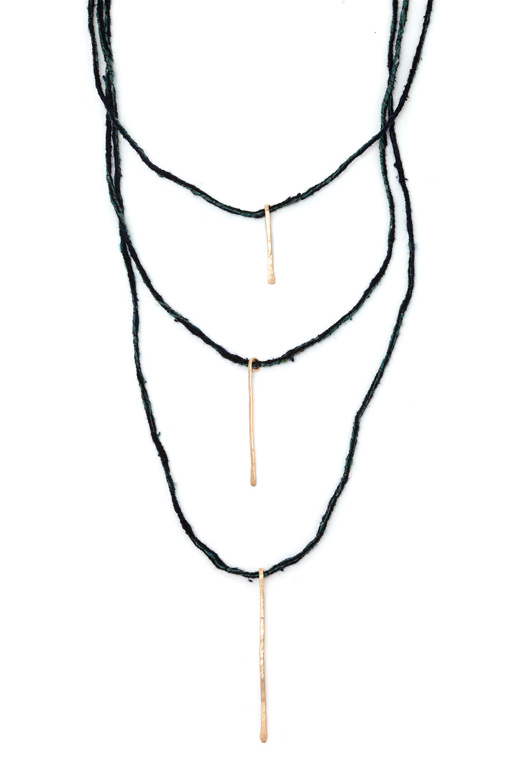 Cinq Tri Stick Necklace - Main Image
