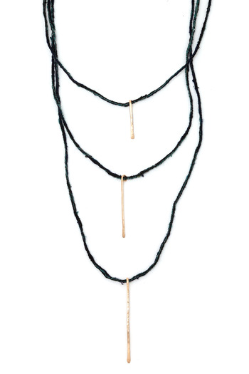 Shoptiques Product: Tri Stick Necklace - main