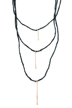 Shoptiques Product: Tri Stick Necklace