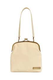 Tammy & Benjamin Single Clasp Leather Bag - Front cropped