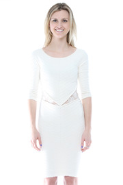 Torn by Ronny Kobo Knee-Length Knit Dress - Front cropped