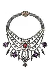 Mawi London Tiered Crystal Necklace - Product Mini Image