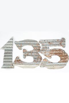 birchalley Galvanized Metal Numbers - Product List Image