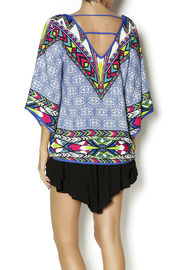 Pink Owl Multicolored Top - Back cropped