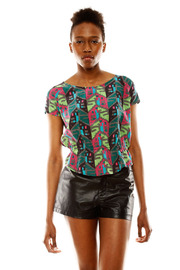Shoptiques Product: Silk Print Top