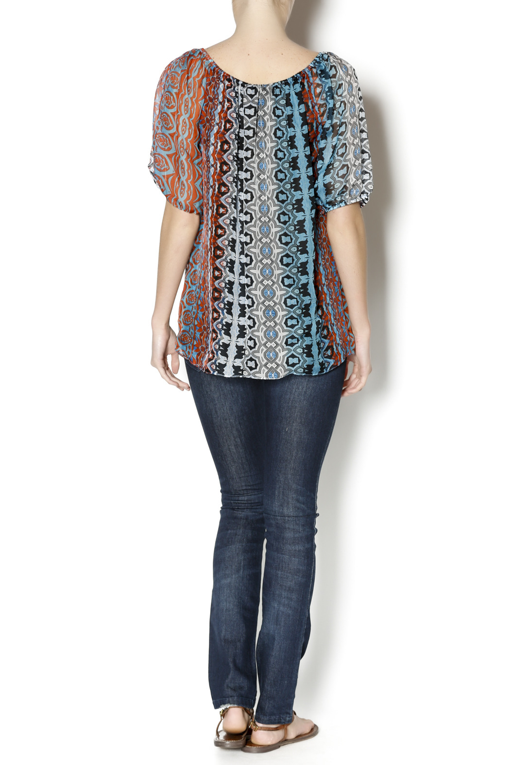 Single Blum Peasant Blouse - Side Cropped Image