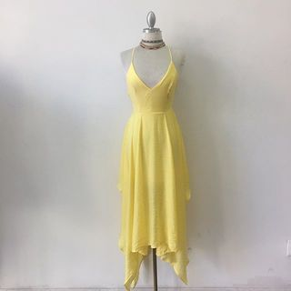 Shoptiques Yellow Bell Dress