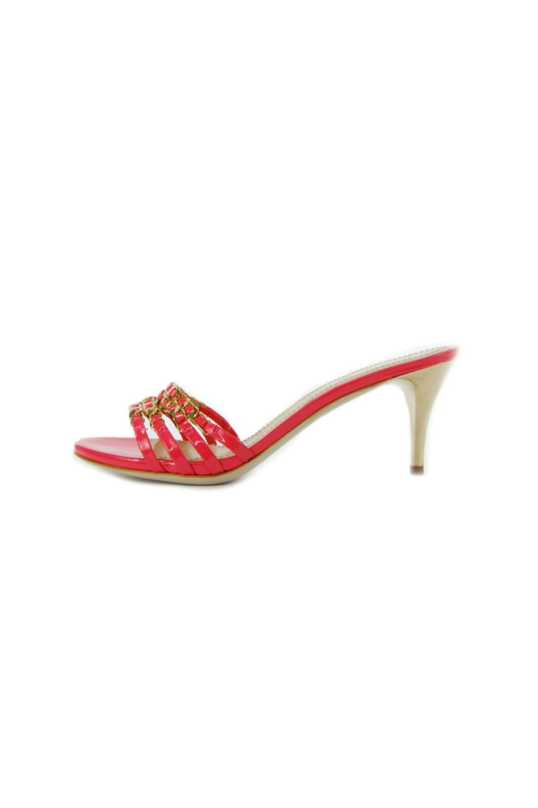 Luis Onofre Coral Patent Mule - Main Image