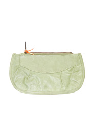 Shoptiques Product: Zippered Leather Purse - Front cropped