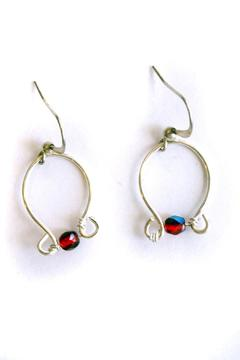 Shoptiques Product: Silver Wire Earrings