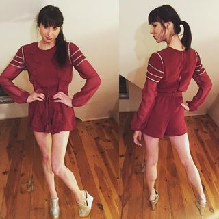 Shoptiques Product: Red Romper